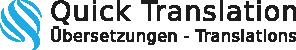 Übersetzungsbüro Quick Translation Logo